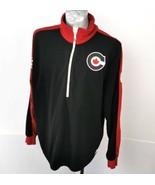 Olympics 2010 HBC Sweater Red Black White Mens Size XL Mens Zip Knit Van... - $44.95