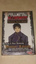Fullmetal (Full Metal)  Alchemist TCG/CCG Starter Deck Roy Mustang  *sea... - $14.03