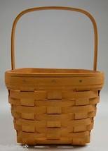 Longaberger 2002 Spring Basket Collectible Home Decor Signed - $39.99