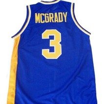 Tracy McGrady #3 Auburndale High School Men Basketball Jersey Blue Any Size image 2