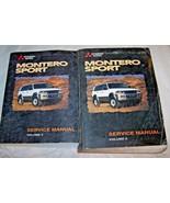 1998 Mitsubishi Montero Sport Shop Service Repair Manual used original 4... - $148.49