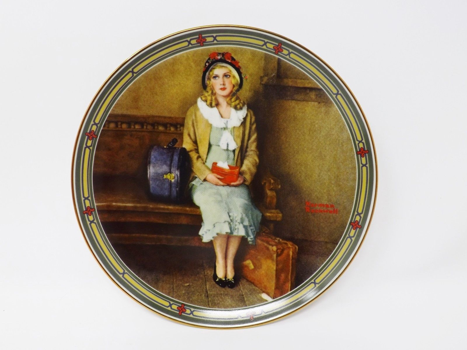 "Primary image for Knowles ""A Young Girl's Dream"" Collectible Plate - Rockwell's American Dream"