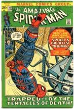 Amazing Spider-Man #107 1972-MARVEL COMICS Bronze Age VG - $19.87
