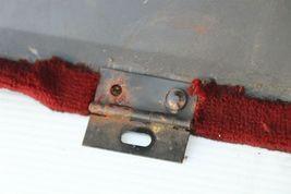 86-89 Mercedes 107 560SL Trunk Battery Carpet Cover Lid image 8