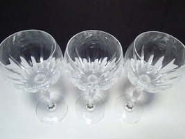 3 Spiegelau Wine Stems ~~~ S mark on base - $19.95
