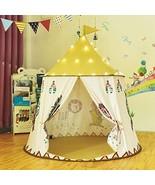 Gupamiga Play Tent Teepee Tent for Kids Pop Up Foldable Tent Playhouse T... - $33.49
