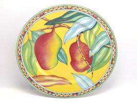 Andrea by Sadek Salad Plate Trade Winds Artist Siddhia Hutchinson Tropic... - $12.99