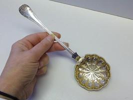 1903 O WESTBERG Sweden Swedish Sterling Silver Punch Tea Juice Strainer ... - $149.99