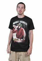 Osiris Monkey Business Negro Camiseta Talla:S