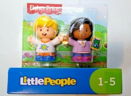 Fisher Price Little People Eddie and Teacher - FAST FREE SHIP! - $14.95
