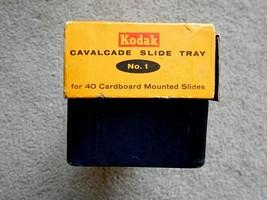 Kodak Cavalcade Slide Tray No. 1 holds 40 Cardboard slides - $9.89