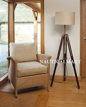Designer Nautical Tripod Floor Lamp Vintage Floor Lamp - Home Decro - $128.70