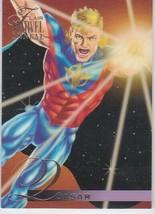 N) 1995 Flair Marvel Annual Comics Trading Card Quasar #131 - $1.97