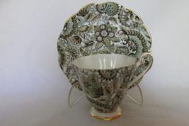 Vintage Paisley Chintz Cup & Saucer - Royal Standard English Bone China,... - $22.99
