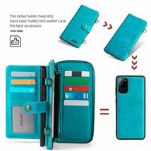 K59) Leather wallet FLIP MAGNETIC BACK cover Case for Samsung Galaxy model - $85.60
