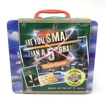 Are You Smarter Than a 5th Grader Board Game Metal Lunch Box & CD  - $14.16