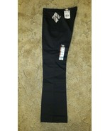 Dickies Girl's Stretch Wide Band Junior Pant Classic Fit Black Sz 3RG 28... - $14.80
