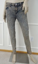 New Silence + Noise Urban Outfitters Overdyed Stretch Skinny Mid Rise Je... - $17.95