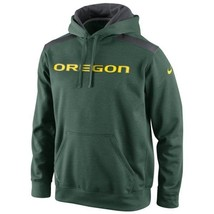 "Nike Oregon Ducks Shield Nailhead Pullover Green ""Large"" - $34.64"