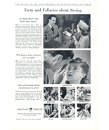 1948 American Optical Seeing Facts & Fallacies print ad - $10.00
