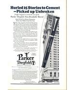 1926 Parker Duofold Non-Breakable Barrel Pen print ad - $10.00