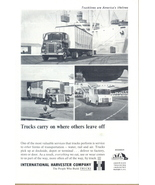1962 International Harvester IHC Truck print ad - $10.00