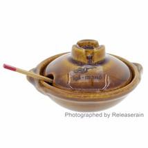 Iga-Mono Japanese Earthenware Clay Pot Miniatur... - $29.69