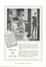 1917 Ivory Soap ad with Directions for Washing Corduroy - $10.00
