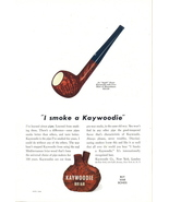 1943 Kaywoodie Smoking Pipe Meerschaum print ad - $10.00