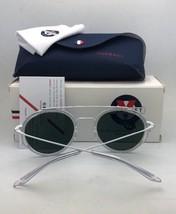New VUARNET Sunglasses VL 1613 0004 Amber & Black Frame w/ Pure Grey Lenses