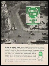 Paris France Quaker State Motor Oil 1959 Photo AD - $14.99
