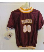 WASHINGTON Football Themed Dog Pet Shirt  Size Medium NEW - $8.95