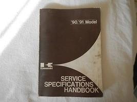 1990 1991 90 91 All Models Kawasaki Service Specs Specifications Handbook - $28.04