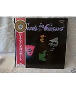 The Seeds Sky Saxon Japan Raw and Alive 1968 Lp London King SLC 219 Obi ... - $299.99
