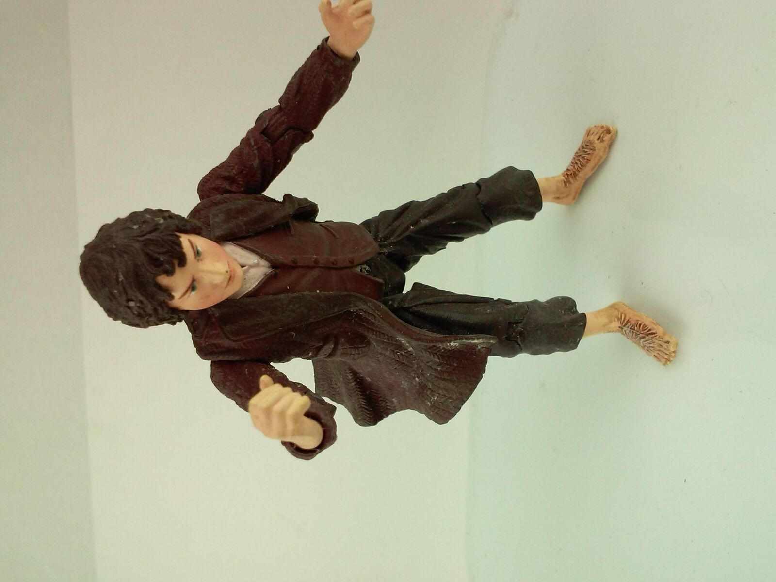 "2002 NLP Marvel Lord of the Rings Hobbit 4"" Action Figure image 3"