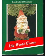 Hallmark Keepsake Ornament 1989 Old World Gnome - $9.99