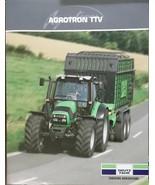 2008 Deutz-Fahr Agrotron TTV610, TTV620 Tractors Brochure - $8.00