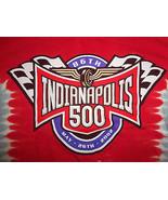 NASCAR Indianapolis 500 Racing 2002 Red Graphic Print T Shirt - XL - $15.45