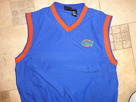 NCAA Florida University Gators Football EMBROIDERED ADULT L V NECK Jacke... - $28.55
