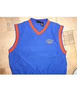 NCAA Florida University Gators Football EMBROIDERED ADULT L V NECK Jacke... - $28.55