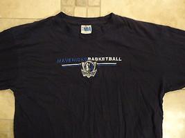 Dallas Mavericks Nba Embroidered Adult Xl Nba Blue T Shirt Nice Free Us Shipping - $17.66