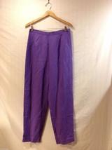 Deane and White Womens Purple Dress Pants, Size 12