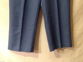 Alfred Dunner Womens Blue Elastic Waist Pants, Size 14 image 4