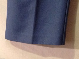 Alfred Dunner Womens Blue Elastic Waist Pants, Size 14 image 5