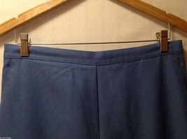Alfred Dunner Womens Blue Elastic Waist Pants, Size 14 image 6