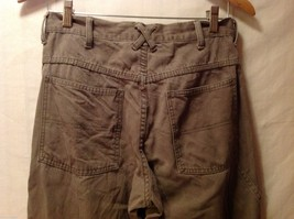 GAP Blue Jeans Womens Army Green Carpenter Pants, Size W29X30L image 5