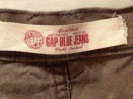 GAP Blue Jeans Womens Army Green Carpenter Pants, Size W29X30L image 6