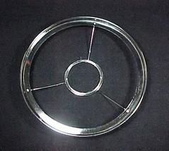 77041a 10 inch nickel plated lamp shade ring thumb200