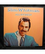 Slim Whitman All My Best 1979 Suffolk Record SL 8128 - $2.99