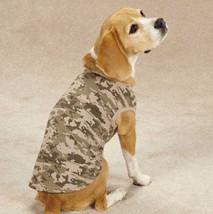 Casual Canine Digital Camo Camouflage Dog Tanks Tank Top Tee T-Shirt Mil... - $12.99